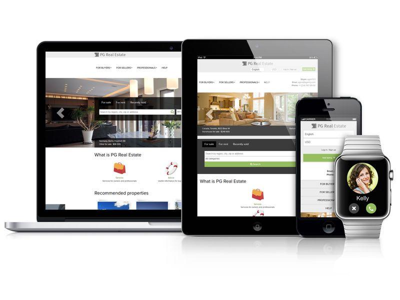 PG Real Estate Agency edition screenshot
