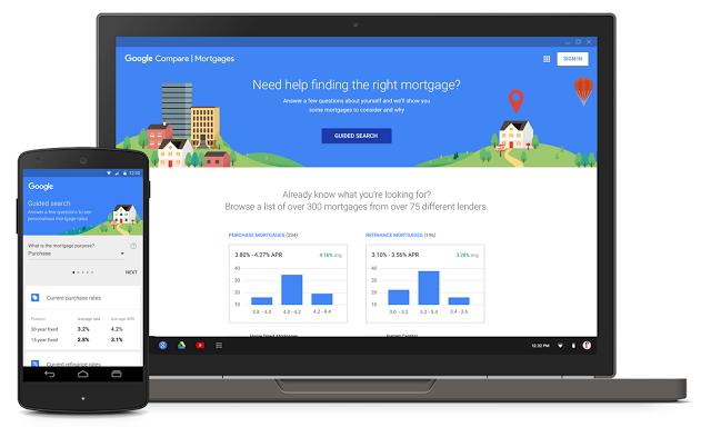 google compare mortgage