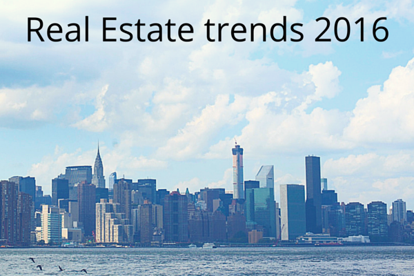 Real Estate trends 2016