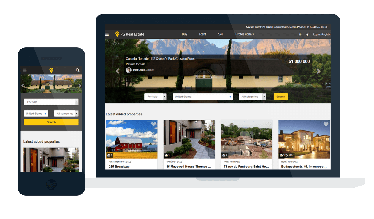Open Source Real Estate PHP Script