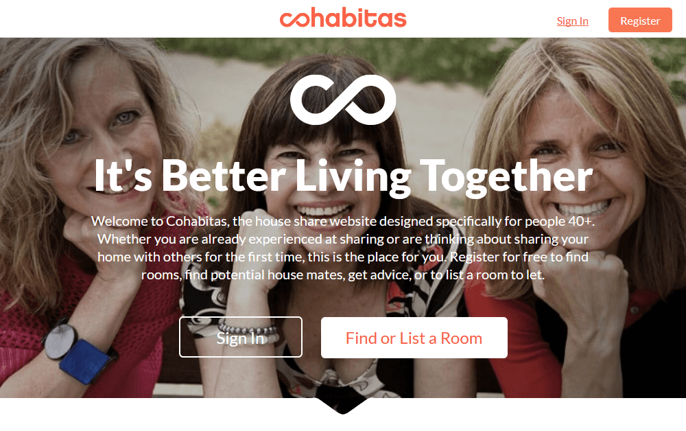 Cohabitas: House sharing and co-living for later life