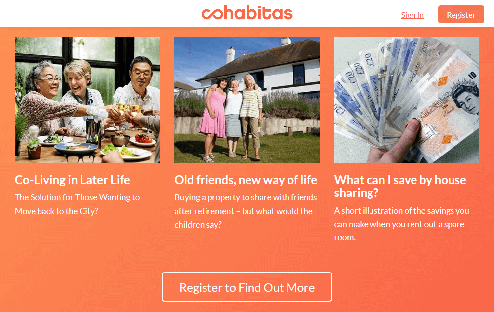Cohabitas: Co-living for later in life